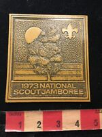Vintage & Large 1973 National Scout Jamboree Boy Scouts Patch 86N6
