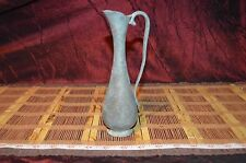"""Royal Selangor Pewter Vase with Handle, Pitcher Patina 7 5/8""""x2 3/4"""""""