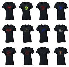 Personalised Ringspun Cotton t-shirts METALLIC GLOSSY GRAPHIC 20 designs