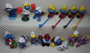 Sportler Schlümpfe Figuren Auswahl Schlumpf Schlumpfinchen Figur # 1