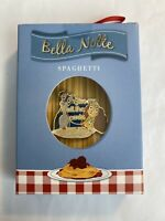 Lady And The Tramp Bella Notte Spaghetti Trading Pin 2019 Ornament Disney Pin LE