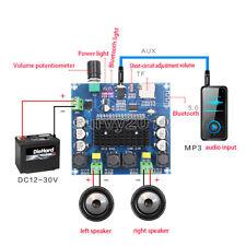 Xh A105 Bluetooth 50 Tda7498 Digital Amplifier Board 2x100w Stereo Amp Module