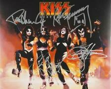REPRINT - KISS Paul Stanley - Gene Simmons Signed 8 x 10 Glossy Photo Poster RP