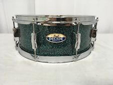 "Pearl Decade Maple DMPR 14"" Snare Drum/Finish #712/Ocean Galaxy Flake/Brand New"