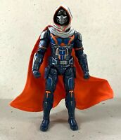 MO-C-TM: 1/12 Grey & Orange Wired Cape for Marvel Legends Taskmaster (No Figure)