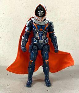 MO-C-TM: 1/12 Grey & Orange Wired Cape for Marvel Legends Taskmaster (No Figure)