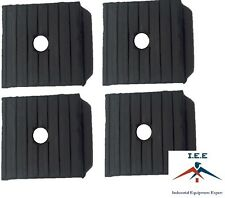 4 Pack Anti Vibration Pads For Air Compressor Or Equipment Solid Rubber 3x3x1