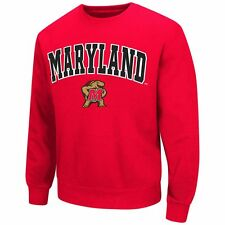 ($55) Maryland Terps STITCHED/SEWN Jersey Sweatshirt Adult MENS/MEN'S (L-LARGE)