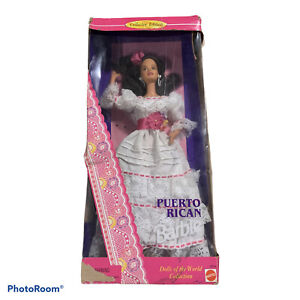 Mattel Barbie Doll 1996 Dolls Of The World Puerto Rican Special Edition 16754