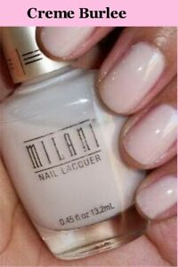 NEW MILANI Specialty Nail Lacquer Glitter~Matte~3D Holographic  (CHOOSE COLOR)