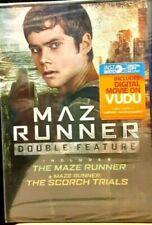 Maze Runner Double Feature Starring Dylan O'Brien DVD