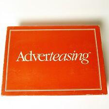Adverteasing (Board Game, 1988 Cadaco) Rare Vintage US Import - Advertising