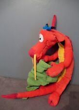 Disney - Peluche  MUSHU Dragon  de  Mulan  Range Pyjama  - 80 CM - JEMINI