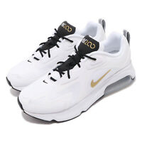 Nike Air Max 200 White Gold Black Mens Running Shoes Sneakers AQ2568-102