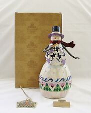 "New 2003 Heartwood Creek Jim Shore ""Winter's Spirit"" Figurine (112246)~Box/Tag"