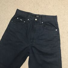 Hugo Boss Alabama Cotton Chino Pants W30 L32 Black