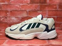 adidas Originals YUNG-1 Shoes Men's White/Noble Green/Dark Blue  Size 11.5