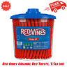 Red Vines Original Red Twists, 3.5lb Jar, Candy, Fat Free, Kosher, Low Calorie