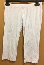 Ladies White Cycling Shorts Size Small