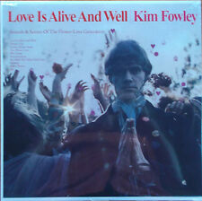 Kim Fowley ‎– Love Is Alive And Well LP Klimt Records