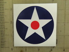 """Vintage Army Air Corps sticker decal sign 3"""""""
