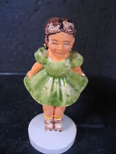 Sebastian Sidewalk Days Girl on Roller Skates Mib #6230 Ltd Ed New Old Stock