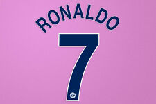 Manchester United Champions League 08/09 C.Ronaldo #7 Away NameKit Velvet