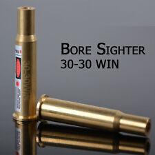 30-30 WIN Cartridge Red Laser Bore Sighter 3030win 30 30 Boresight Brass Copper