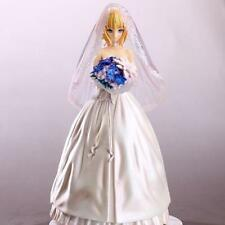 Fate/stay night Saber 10th Anniversary Wedding Dress 1/7 PVC Figure Anime Toy