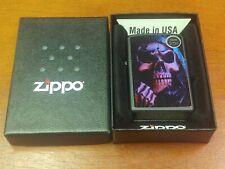 GRIM REAPER 218 SKULL ON BLACK MATTE ZIPPO LIGHTER MINT IN BOX