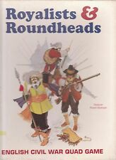 ROYALISTS & ROUNDHEADS I- ENGLISH CIVIL WAR QUADRIGAME - WARGAME 3W