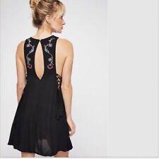 dd217f8c00bc People Adelaide Festival Slip Dress Black Floral XSmall XS OB796272