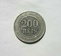 BRAZIL. 200 REIS, 1889.