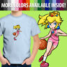 Toddler Kids Tee Youth T-Shirt Super Mario Hoops Princess Peach Basketball Sport