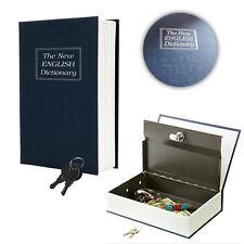Safe Box Lock Vault Book Home Sentry Money Cash Jewelry Gun Protect Hide Box