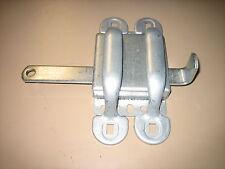 NEW SLIDING DOOR LATCH PLATED STEEL FOR GATE, GARAGE, BARN, CARWASH ETC.