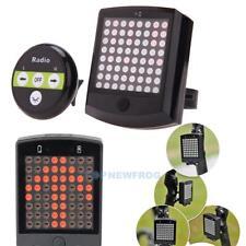 64 LED Fahrrad Rücklicht Lichtstrahl Fernbedienung Blinker Sicherheit Licht