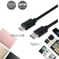 Usb 3.0 Usb-c Type C To Micro Usb Male Sync Otg Charge Cord Data Transfer P5O0