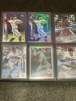 2020 Topps Bo Bichette & Gavin Lux Rookie Card Rc Lot - Blue Foil, Topps Chrome.