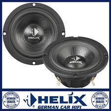 "HELIX P 3M 3"" 75mm 150 Watts Midrange Car Speaker Set with Grilles"