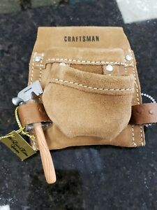 2004 Limited edition Collection Mini 4x4 inch Craftsman Suede Tool Belt Pouch