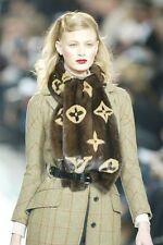 Louis Vuitton Runway/Editorial Plaid Coat Fall/Winter 2004 Size 36FR