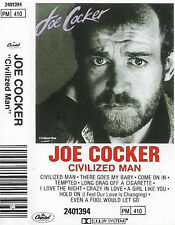 Joe Cocker Civilized Man CASSETTE ALBUM Rock  Blues Rock Pop Rock