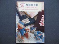 livre : le Patchwok facile 30 objets ravissants pour la maison