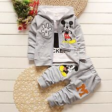 Baby clothes toddler boy clothes hoodie jacket &long sleeve Tee &pants outfits