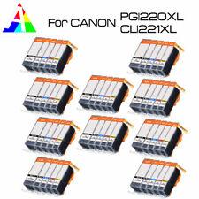 50 PK Printer Ink Cartridges use for Canon PGI-220 CLI-221 MX860 MX870 iP3600