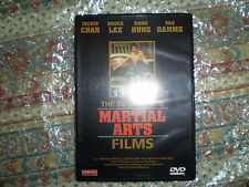 THE BEST OF THE MARTIAL ARTS FILMS DVD DESCATALOGADO BRUCE LEE JACKIE CHAN CHUCK