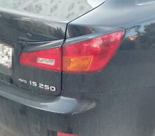For Lexus IS250 IS350 Eyebrows Eyelids Tail Lights Cover 2005-2010MY Unpainted