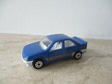 altes MAJORETTE PEUGEOT 405 MI 16 in blau  Nr. 218  Modellauto