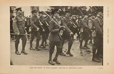 More details for 1914 ww1 print the prince of wales marching with 3rd grenadier guards